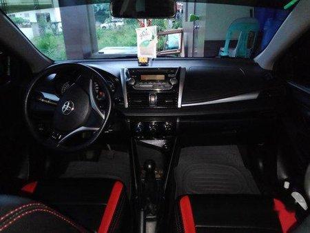 Selling Black Toyota Vios 2014 Manual Gasoline at 45000 km