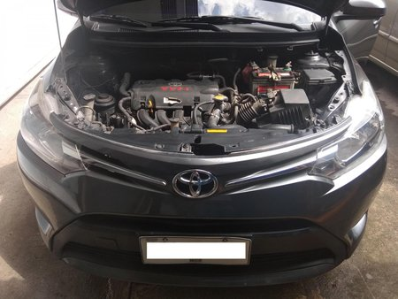 Grey Toyota Vios 2015 Sedan Automatic Gasoline for sale
