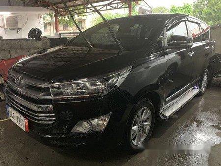 Black Toyota Innova 2016 for sale in Quezon City