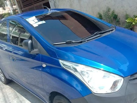 Blue Hyundai Eon 2014 for sale in Bacoor