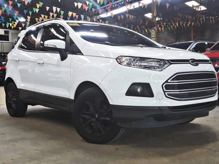 White 2016 Ford Ecosport at 40000 km for sale in Quezon City