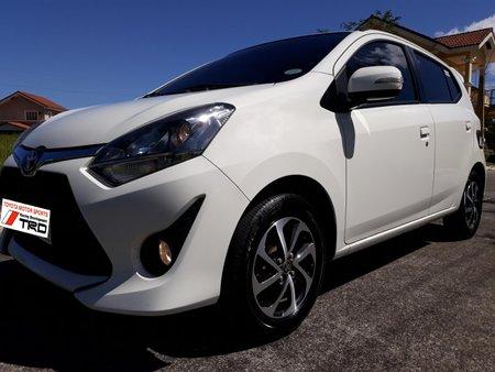 Sell White 2018 Toyota Wigo Automatic Gasoline