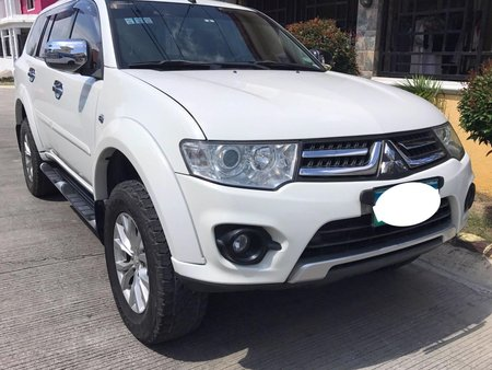 Selling White Mitsubishi Montero Sport 2014 at 51000 km in Laguna