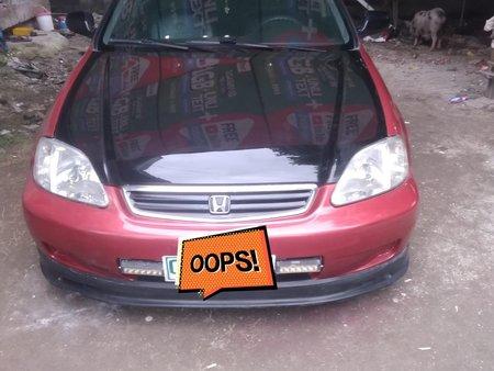 Selling Red Honda Civic 1999 Manual in Bataan