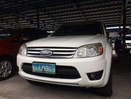 White 2010 Ford Escape at 92000 km for sale