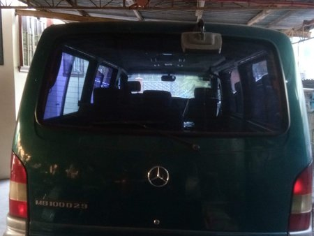 Green Mercedes-Benz Mcc 2000 Van at 100000 km for sale