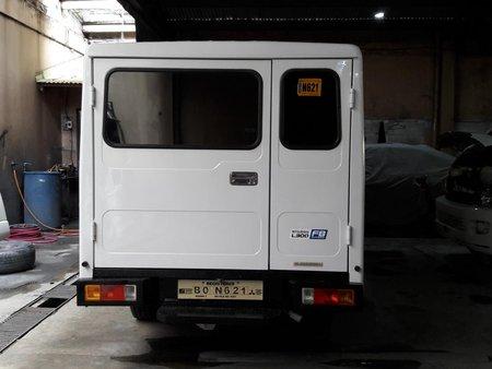 White 2017 Mitsubishi L300 at 28000 km for sale in Makati