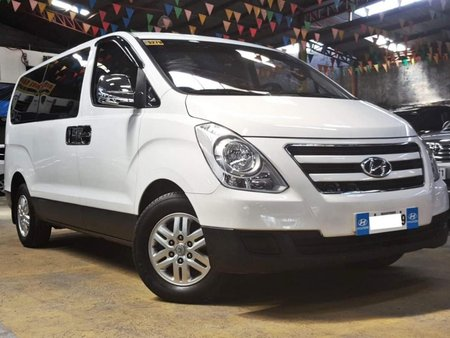 White 2017 Hyundai Grand Starex Diesel Manual for sale in Quezon City