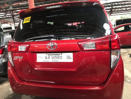 Sell Red 2018 Toyota Innova in Quezon City