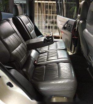 White Mitsubishi Shogun 1999 for sale in Quezon City