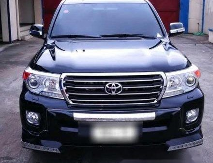 Black Toyota Land Cruiser 2015 at 16100 km for sale