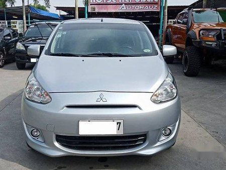 Silver Mitsubishi Mirage 2014 for sale in Meycauayan
