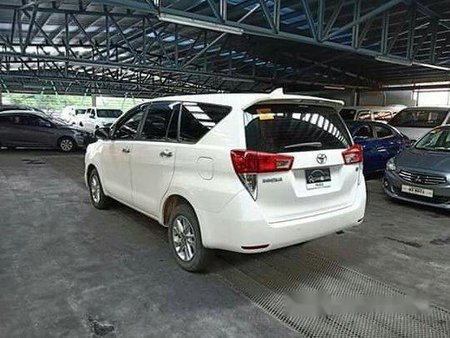 Sell White 2017 Toyota Innova Automatic Diesel at 80000 km