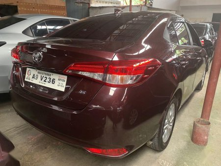Selling Red Toyota Vios 2019 in Quezon City