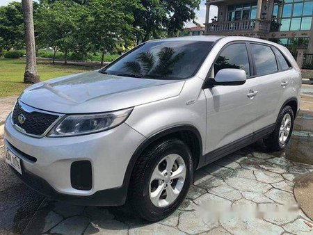 Silver Kia Sorento 2015 Automatic Diesel for sale