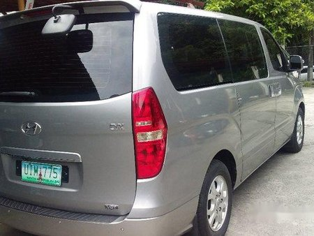 Silver Hyundai Grand Starex 2012 Automatic Diesel for sale