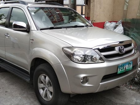 Used 2008 Toyota Fortuner Automatic Diesel for sale in Antipolo