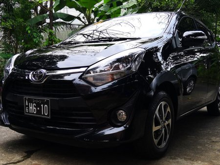 Black 2018 Toyota Wigo at 9000 km for sale