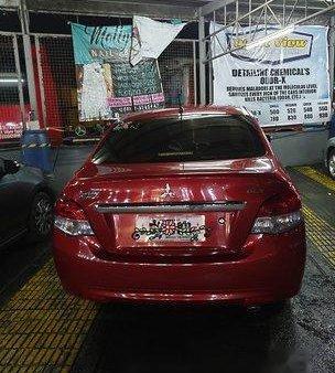 Sell Red 2015 Mitsubishi Mirage G4 Manual Gasoline at 24000 km