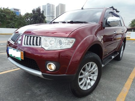 Sell Red 2010 Mitsubishi Montero Sport at 48000 km in Quezon City