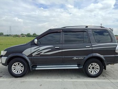 Black 2009 Isuzu Sportivo for sale in Maasin