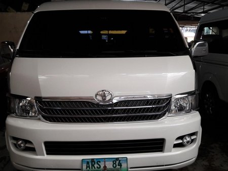 Sell Used 2010 Toyota Hiace Automatic Diesel in Makati