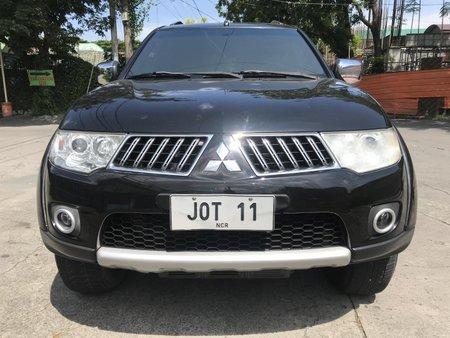 Sell Black 2011 Mitsubishi Montero Sport at 81000 km in Las Pinas