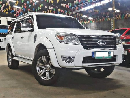 Sell White 2011 Ford Everest Diesel Automatic in Quezon City