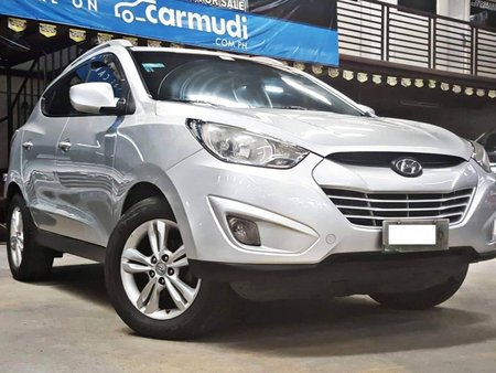 Sell Silver 2010 Hyundai Tucson at 78000 km in Quezon City