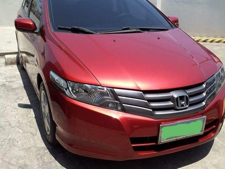 Red Honda City 2009 for sale in Pasig