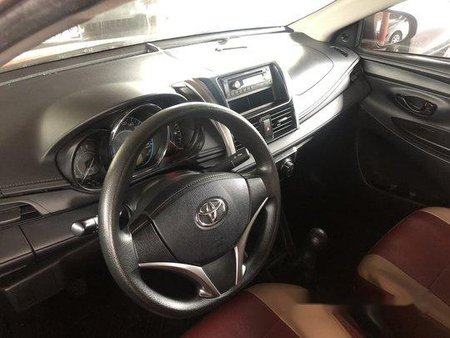 Selling Red Toyota Vios 2016 Manual Gasoline at 11800 km