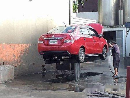 Sell Red 2016 Mitsubishi Mirage G4 Manual Gasoline at 45000 km