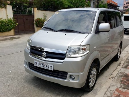 Silver 2017 Suzuki Apv for sale in Quezon City