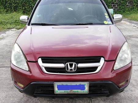 Sell Red 2003 Honda Cr-V Automatic in Metro Manila