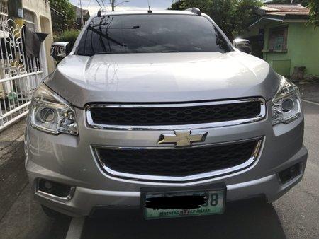 Selling Silver Chevrolet Trailblazer 2013 Automatic Diesel