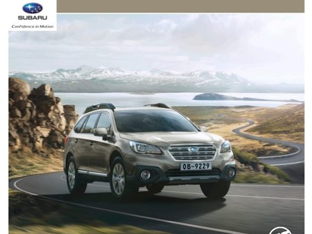 Sell Brand New 2019 Subaru Outback in Manila