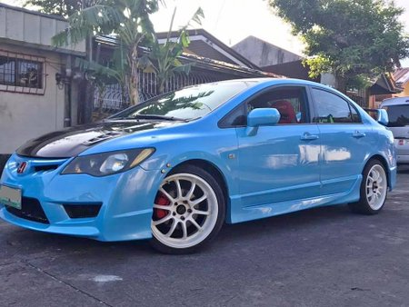 Sell Blue 2005 Honda Civic Sedan at 44000 km in Manila