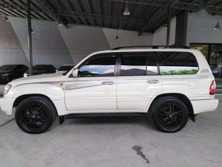 White 1998 Toyota Land Cruiser for sale in Manila