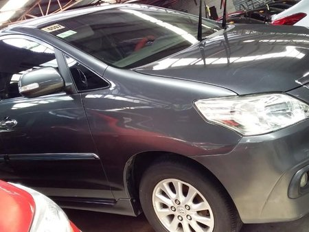 Grey Toyota Innova 2016 for sale in Quezon City