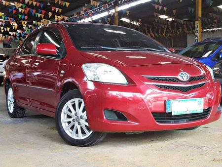 Red 2008 Toyota Vios at 86000 km for sale