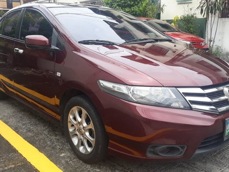 Selling Red Honda City 2013 at 57000 km in Manila