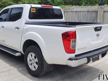 White 2019 Nissan Navara at 2000 km for sale in Mandaue