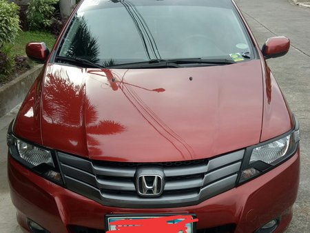 Sell Red 2010 Honda City at 61000 km