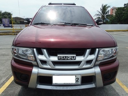 Red 2016 Isuzu Crosswind Automatic Diesel for sale