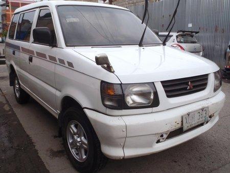 White 2003 Mitsubishi Adventure Manual Diesel for sale