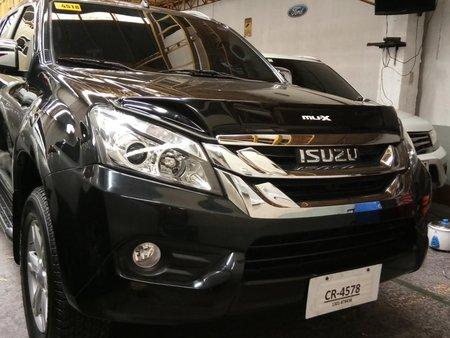 Black 2017 Isuzu Mu-X for sale in Quezon City