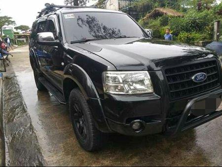Selling Black Ford Everest 2008 Manual Diesel in Manila