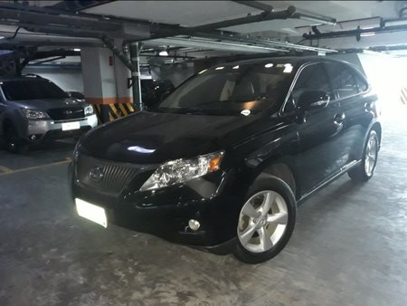 Black 2012 Lexus Rx 350 Automatic Gasoline for sale