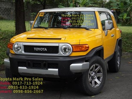 Selling Brand New Toyota Fj Cruiser 2019 in Manila