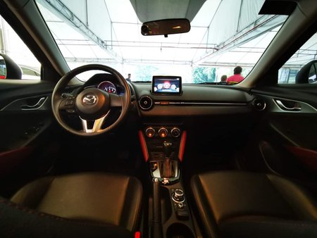 Sell Red 2017 Mazda Cx-3 at 16000 km in Quezon City